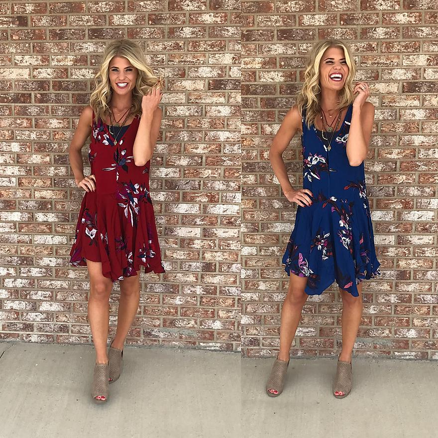 Fun & Flirty Floral Tunic
