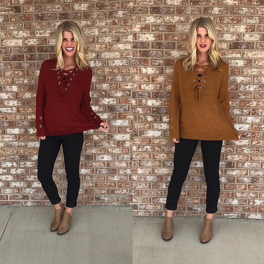 Autumn Splendor Sweater