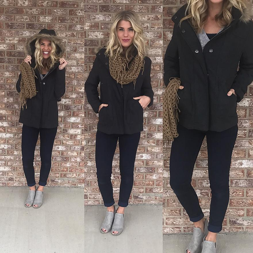 Love me Some Fur Hooded Jacket
