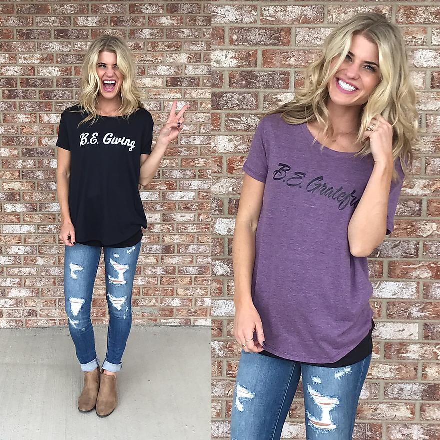 B.E. Humble Custom T-shirts