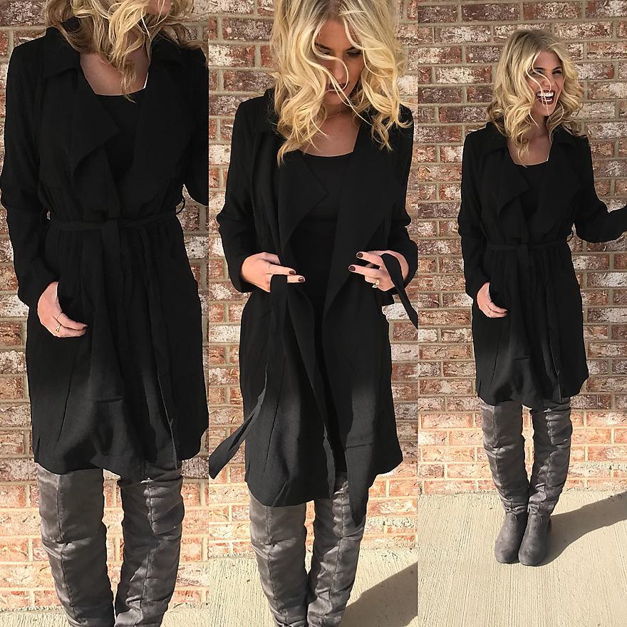 Black Lightweight Jacket