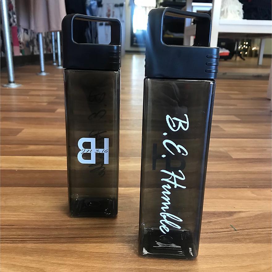B.E. Humble Custom Water Bottle
