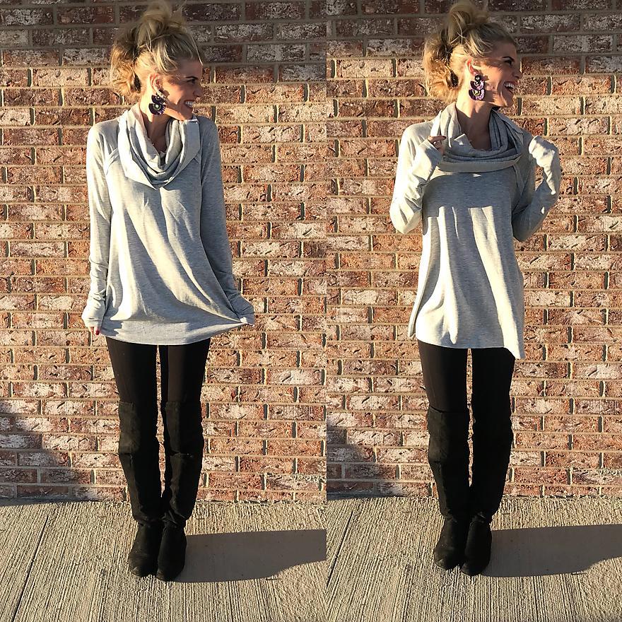 Cozy Comfort Off-Shoulder Sweater