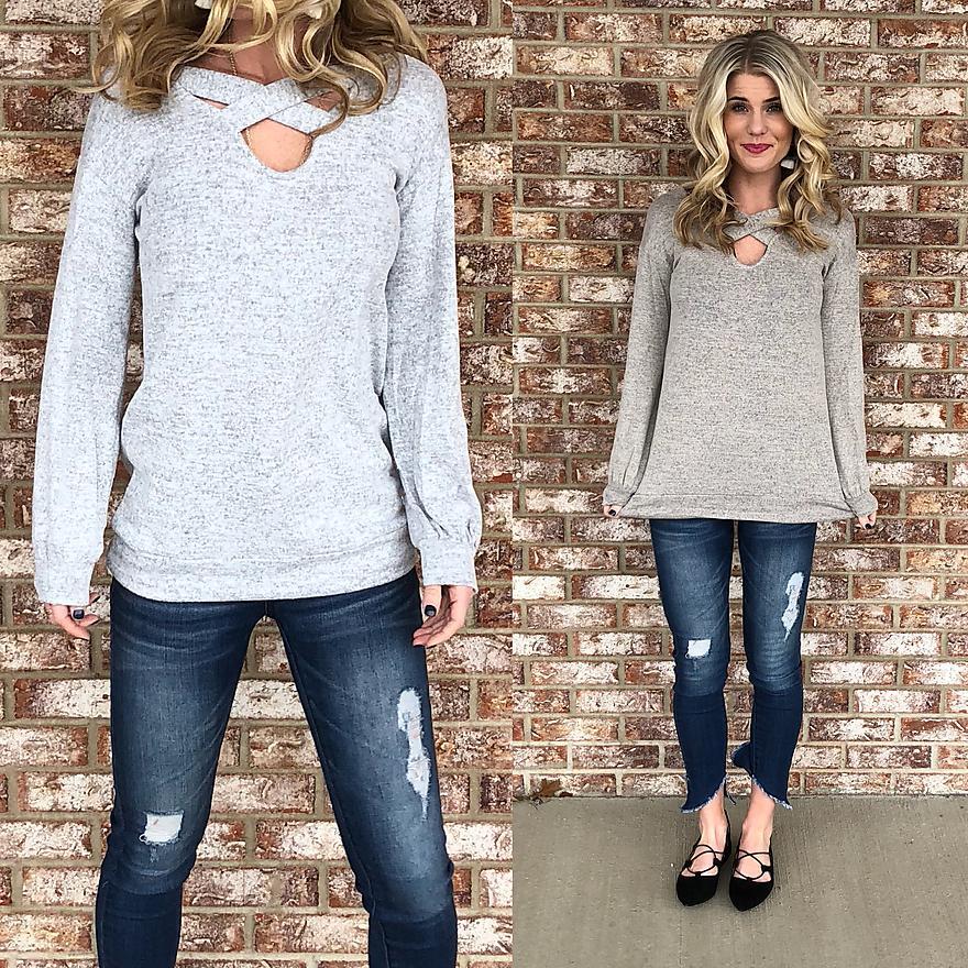 Crisscross Sweater