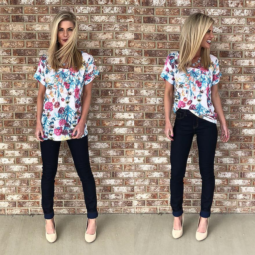 Floral T- Shirt