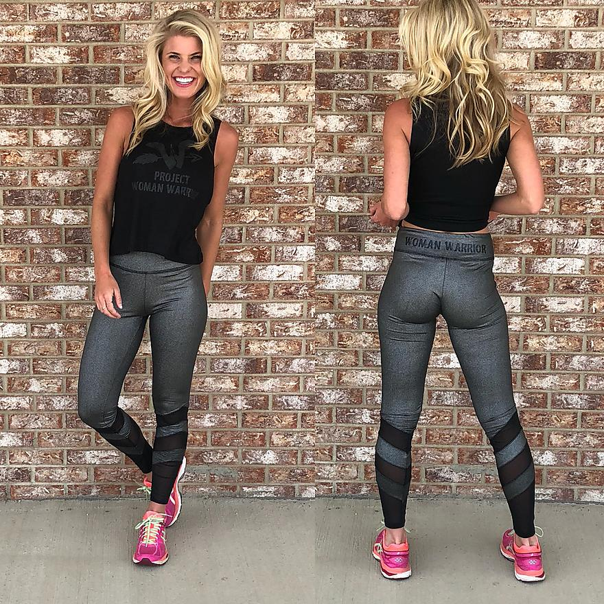 WW Metallic leggings