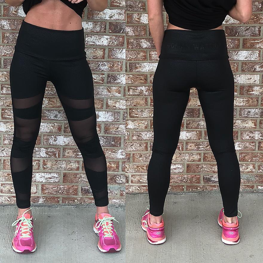 WW Pleather leggings