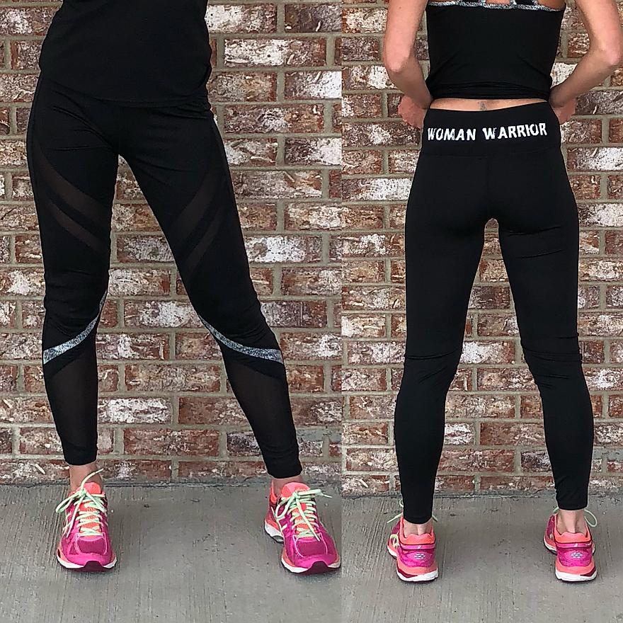 WW Black & White Pants