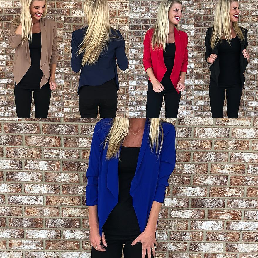 Blazer With Give