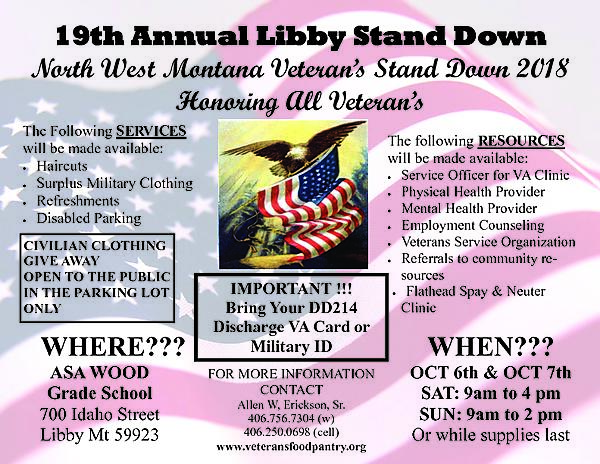 Libby 2018 Stand Down