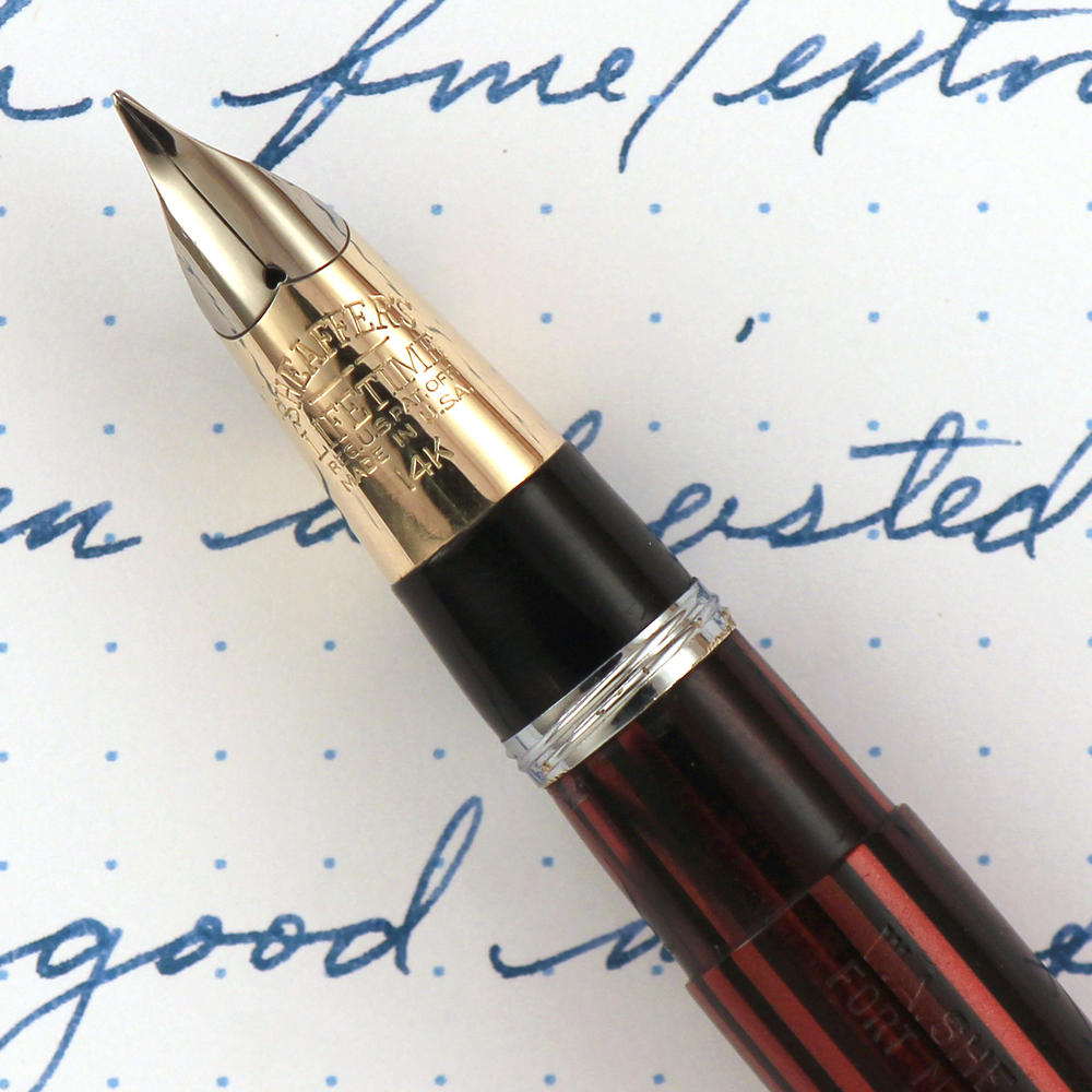 Sheaffer8217s awesome Triumph Conical Nib