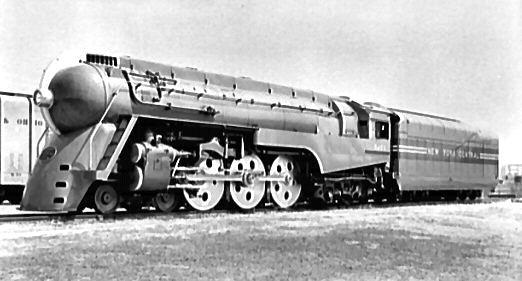 Locomotive Design by Henry Dreyfuss